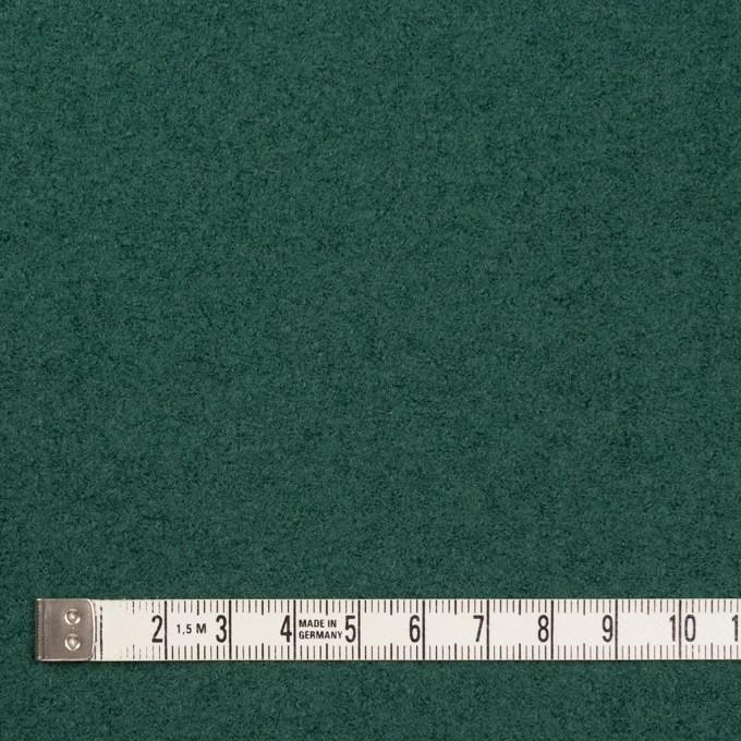 ウール×無地(ジャスパーグリーン)×圧縮ループニット イメージ4