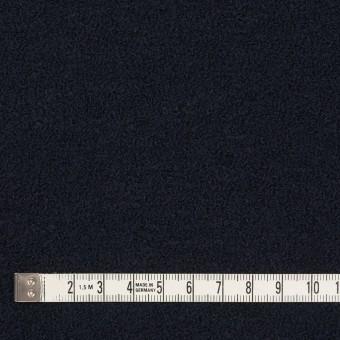 ウール&アクリル混×無地(ダークネイビー)×ファンシーニット サムネイル4