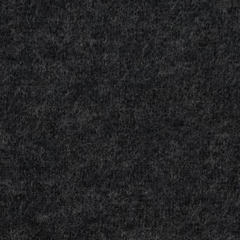 ウール×無地(チャコールグレー)×圧縮W天竺ニット サムネイル1