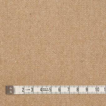 ウール&ポリエステル混×無地(キナリ&ベージュ)×ツイードストレッチ_全5色 サムネイル4