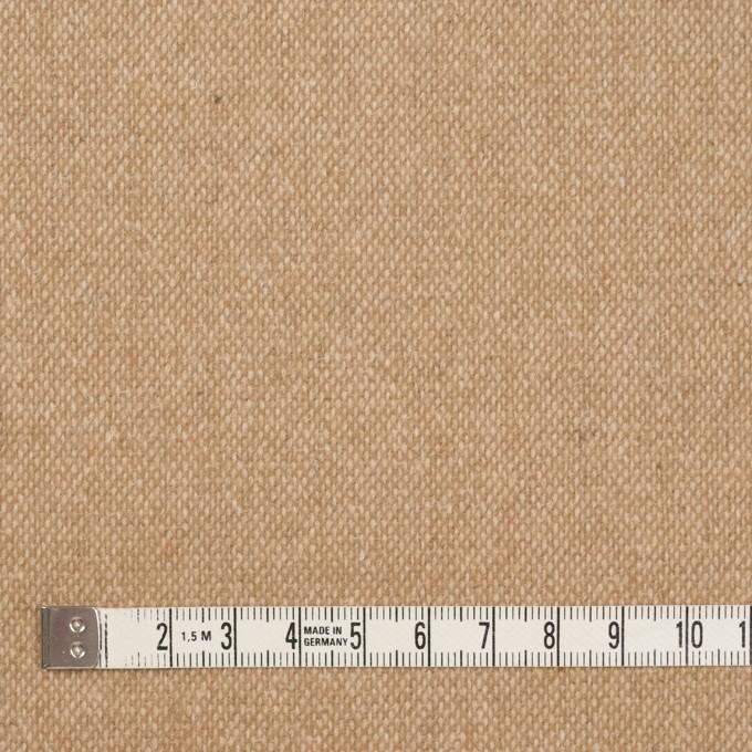 ウール&ポリエステル混×無地(キナリ&ベージュ)×ツイードストレッチ_全5色 イメージ4