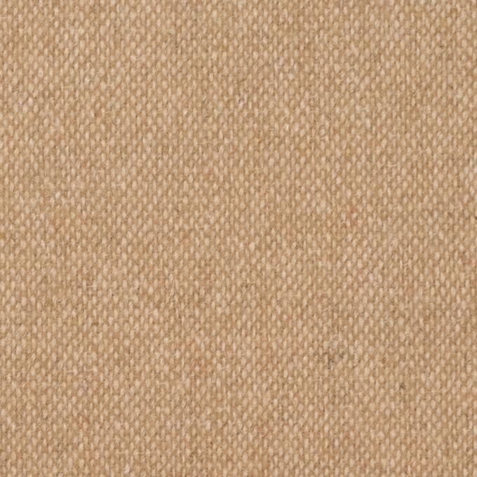 ウール&ポリエステル混×無地(キナリ&ベージュ)×ツイードストレッチ_全5色 イメージ1