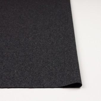 ウール&ポリエステル混×無地(チャコール&ブラック)×ツイードストレッチ_全5色 サムネイル3