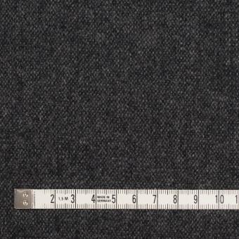 ウール&ポリエステル混×無地(チャコール&ブラック)×ツイードストレッチ_全5色 サムネイル4