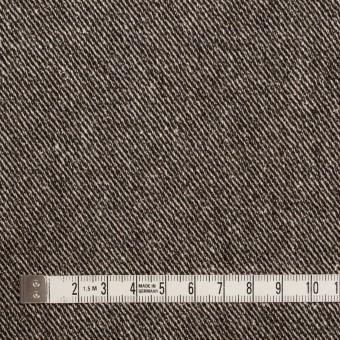 ウール&レーヨン混×無地(ブラウン)×サージ_全2色 サムネイル4