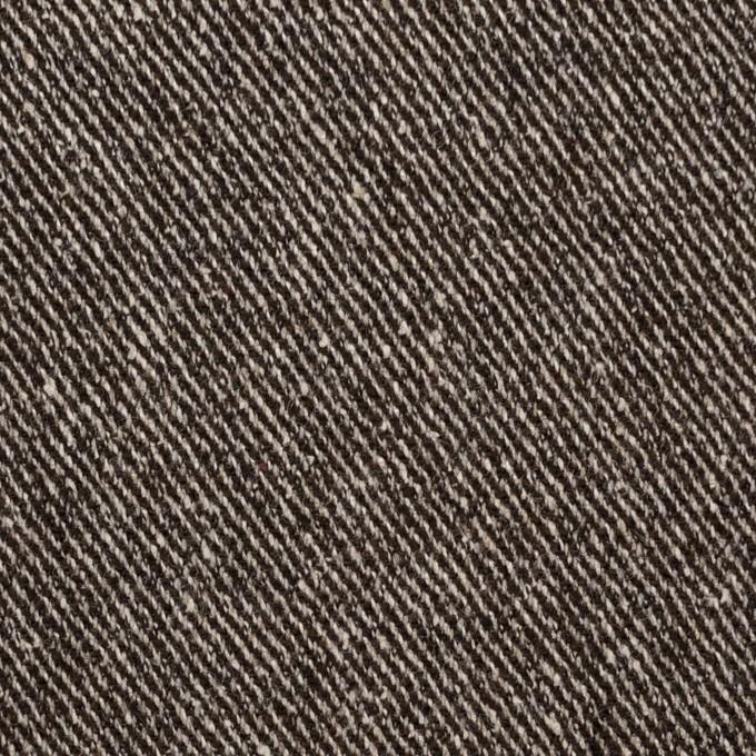 ウール&レーヨン混×無地(ブラウン)×サージ_全2色 イメージ1