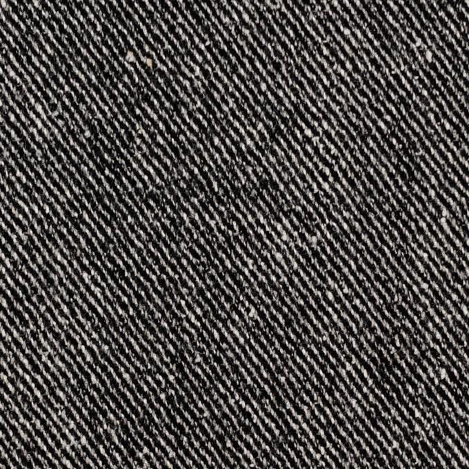 ウール&レーヨン混×無地(ブラック)×サージ_全2色 イメージ1