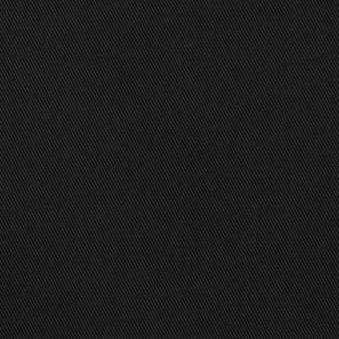 コットン×無地(チャコールブラック)×チノクロス_全7色 イメージ1