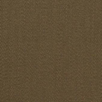 ウール×無地(カーキ)×サージ_全2色 サムネイル1