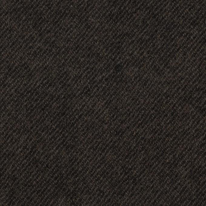 ウール×無地(ダークブラウン)×ビエラ イメージ1