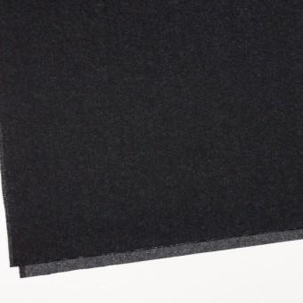 ウール&コットン×無地(ブラック)×厚ビエラ サムネイル2