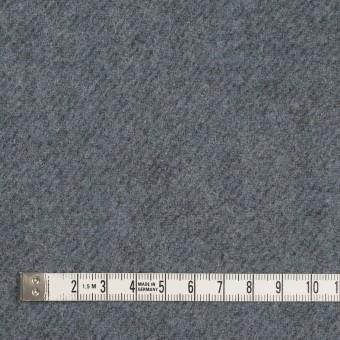 ウール&ナイロン×無地(ブルーグレー)×厚カルゼ サムネイル4