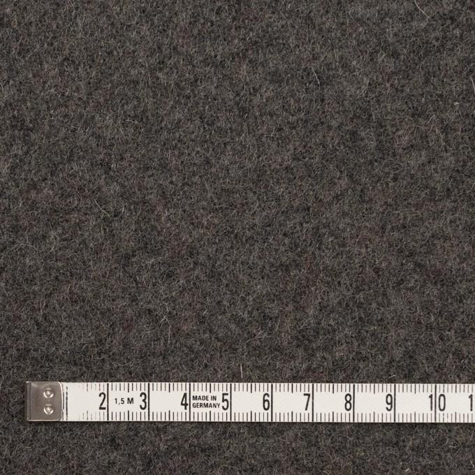 ウール×無地(ストーングレー)×メルトン イメージ4