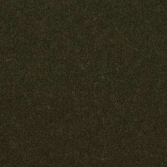 ウール&ナイロン×無地(オリーブドラブ)×メルトン サムネイル1