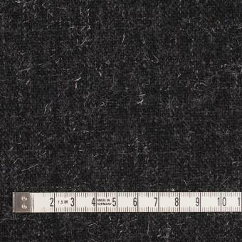 ウール×無地(チャコール)×二重織ツイード サムネイル4