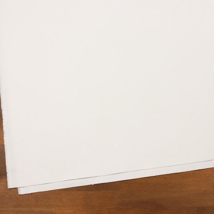 コットン×無地(オフホワイト)×フランネル_全8色 イメージ2