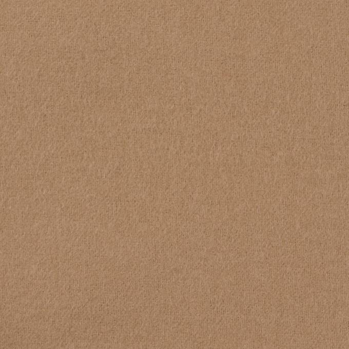 コットン×無地(オークルベージュ)×フランネル_全8色 イメージ1