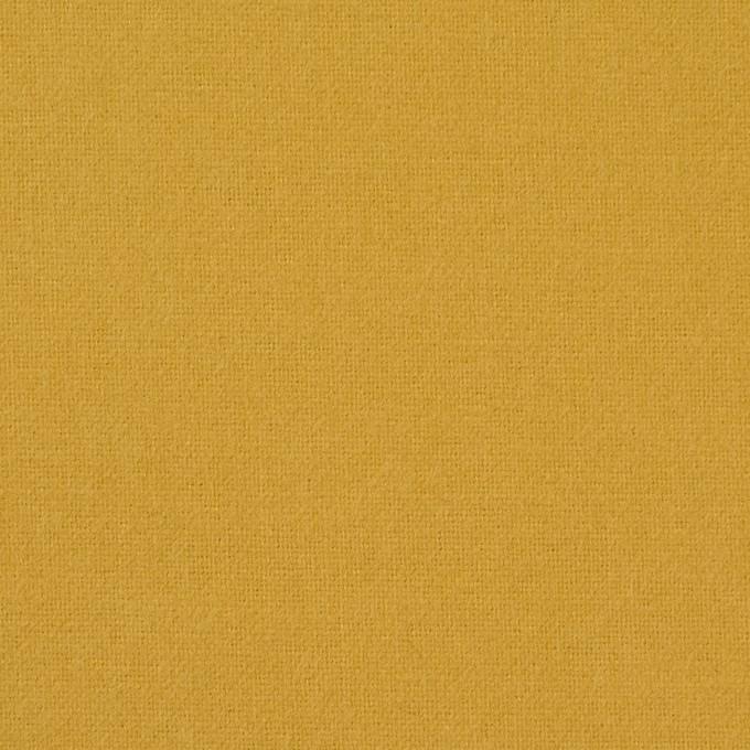 コットン×無地(マスタード)×フランネル_全8色 イメージ1