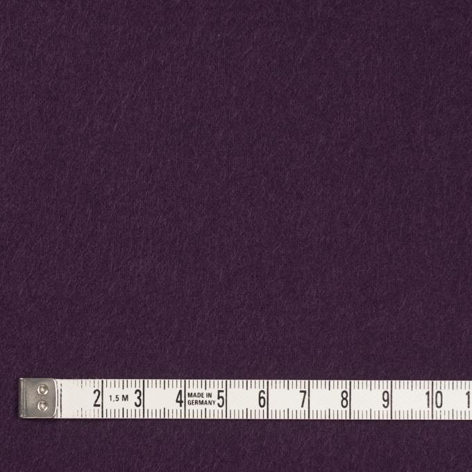 コットン×無地(パープル)×フランネル_全8色 イメージ4