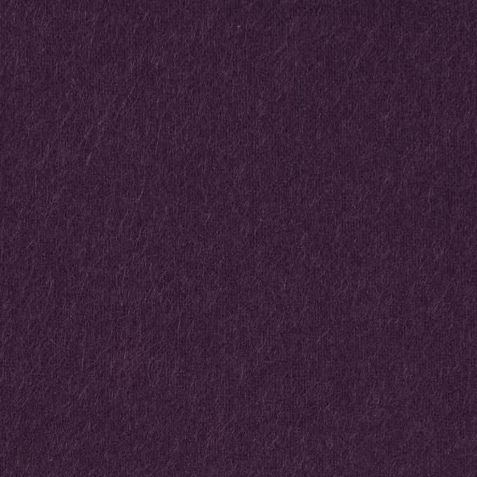 コットン×無地(パープル)×フランネル_全8色 イメージ1