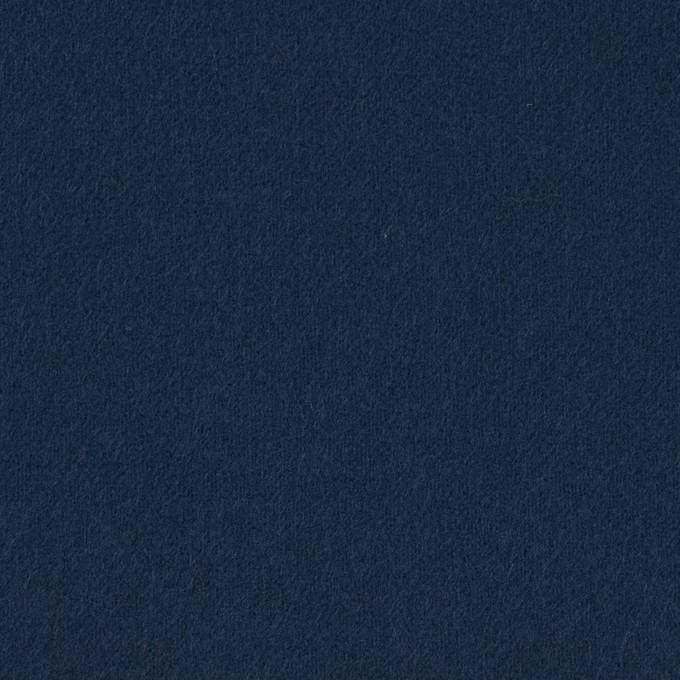コットン×無地(ネイビー)×フランネル_全8色 イメージ1
