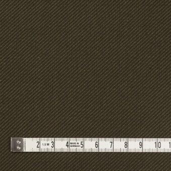 コットン×無地(カーキグリーン&カーキブラウン)×厚サージ サムネイル4