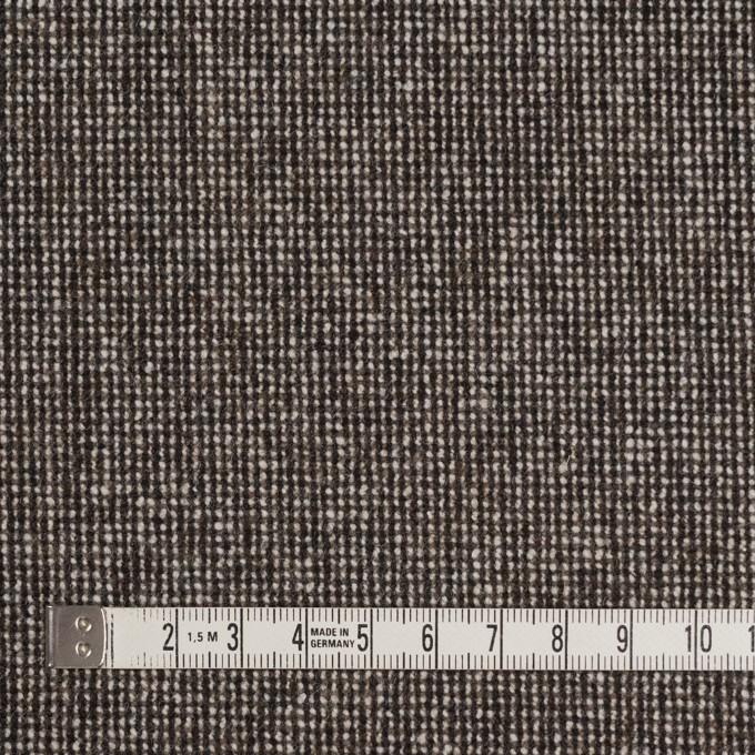 ウール&ナイロン混×ミックス(ブラウン)×ツイードストレッチ_全2色 イメージ4