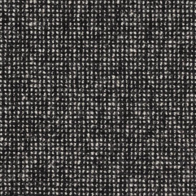 ウール&ナイロン混×ミックス(ブラック)×ツイードストレッチ_全2色 イメージ1