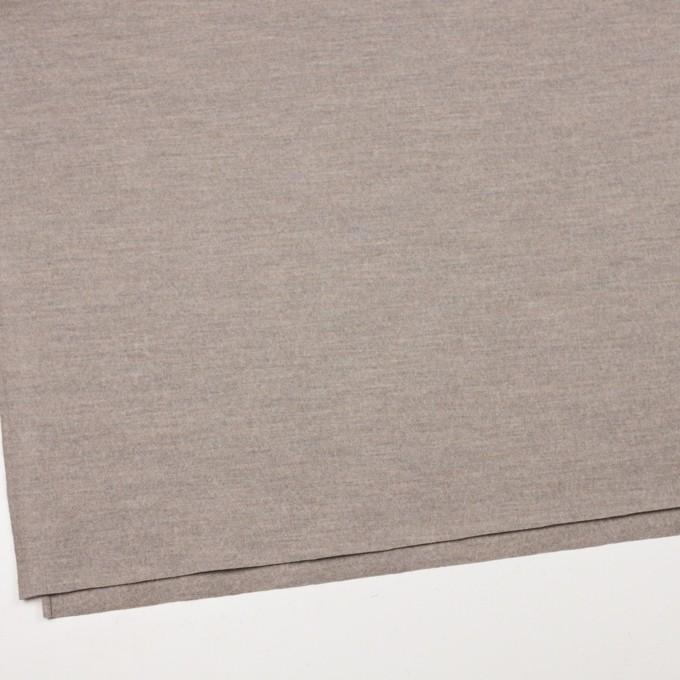ウール×無地(オートミール)×圧縮天竺ニット イメージ2