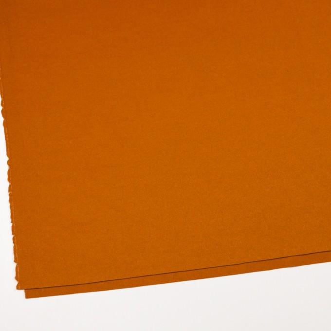 ウール&ナイロン混×無地(バレンシアオレンジ)×ビーバー_全3色 イメージ2