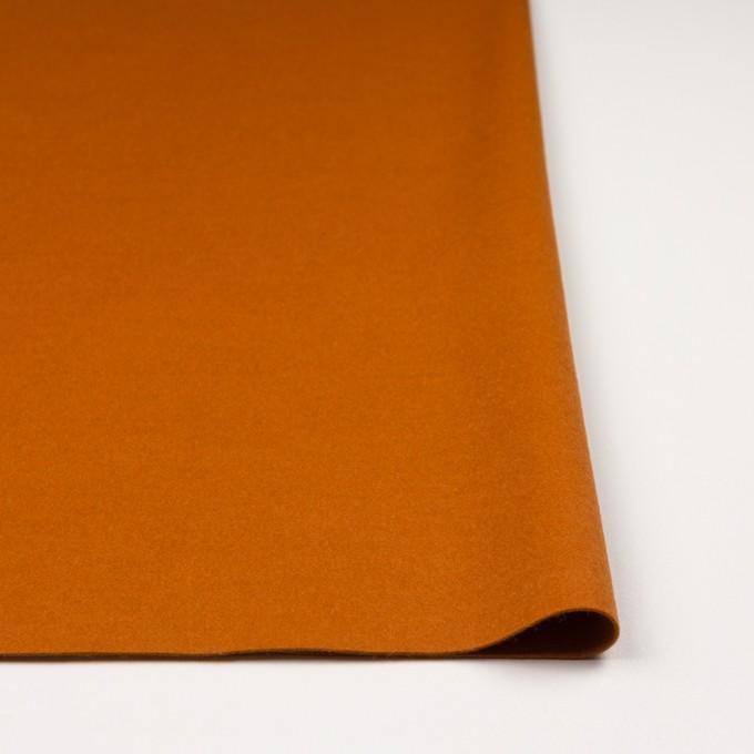 ウール&ナイロン混×無地(バレンシアオレンジ)×ビーバー_全3色 イメージ3