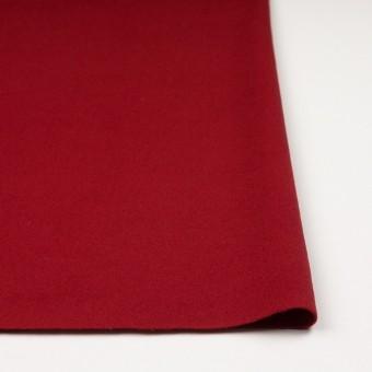 ウール&ナイロン混×無地(レッド)×ビーバー_全3色 サムネイル3
