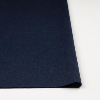 ウール&ナイロン混×無地(ミッドナイトブルー)×ビーバー サムネイル3