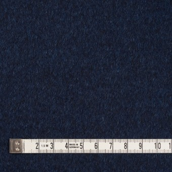 ウール&ナイロン混×無地(ミッドナイトブルー)×ビーバー サムネイル4
