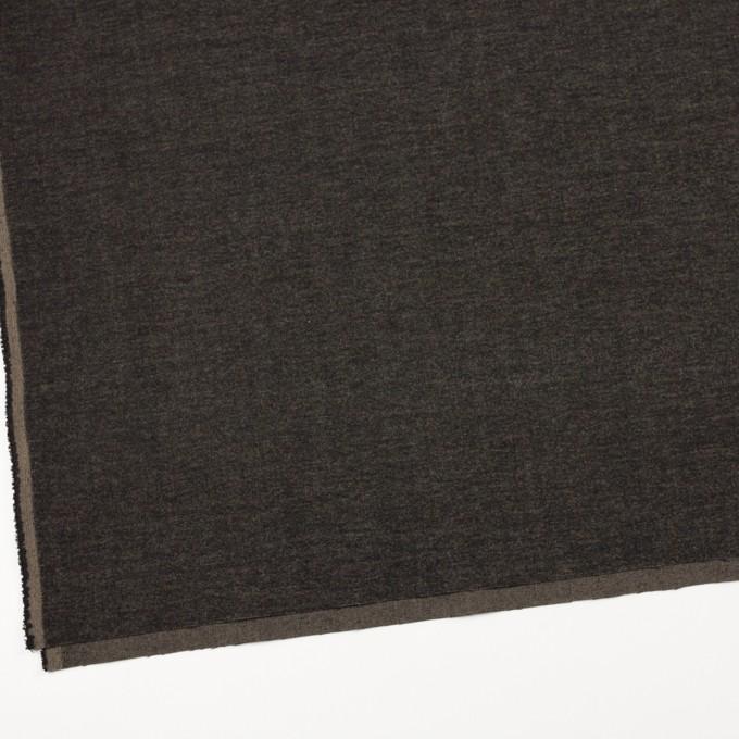 ポリエステル&レーヨン混×無地(アッシュブラウン)×かわり織 イメージ2