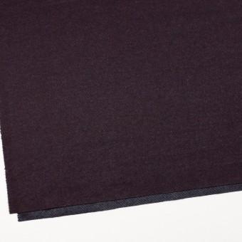 ウール&ナイロン混×無地(プラム)×かわり編み サムネイル2