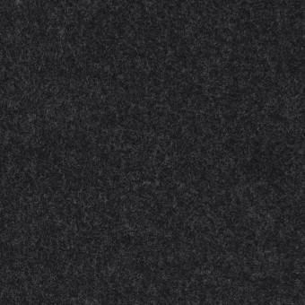 ウール×無地(チャコール)×メルトン