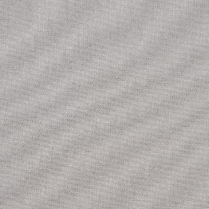 コットン×無地(シルバーグレー)×フランネル_全6色 イメージ1