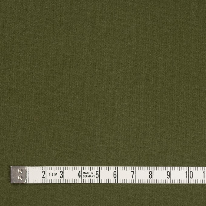 コットン×無地(カーキグリーン)×フランネル_全6色 イメージ4