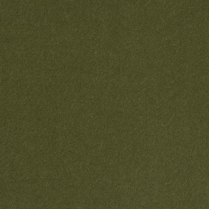 コットン×無地(カーキグリーン)×フランネル_全6色 イメージ1