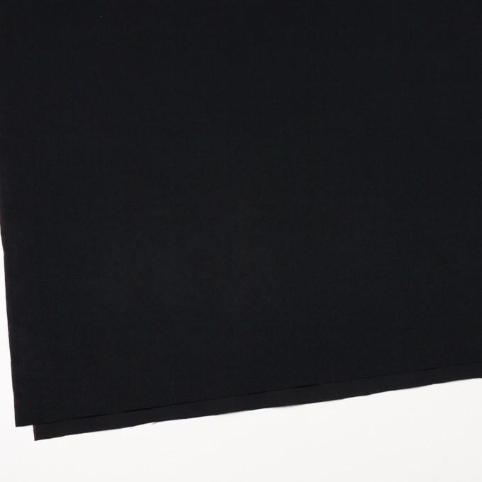 コットン×無地(ブラック)×フランネル_全6色 イメージ2