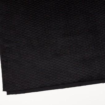 ウール&ナイロン×無地(ブラック)×シャギー_全2色 サムネイル2