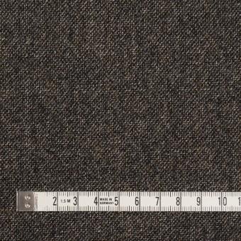 ウール×ミックス(オフホワイト、キャラメル&ブラック)×ツイード サムネイル4