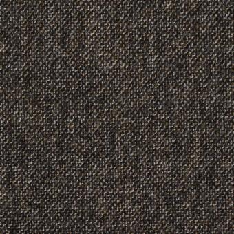 ウール×ミックス(オフホワイト、キャラメル&ブラック)×ツイード