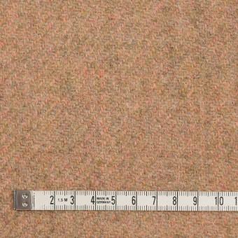 ウール×無地(アプリコット)×かわり織 サムネイル4