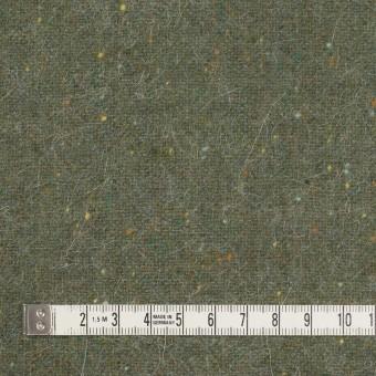 ウール&ポリエステル混×無地(アイビーグリーン)×ツイード サムネイル4