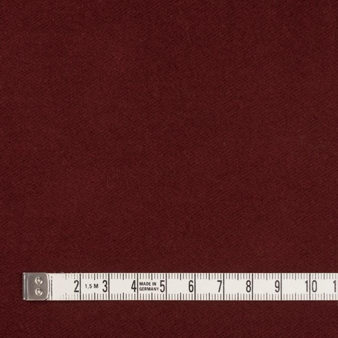 コットン&ポリウレタン×無地(エンジ)×モールスキンストレッチ_全3色 イメージ4