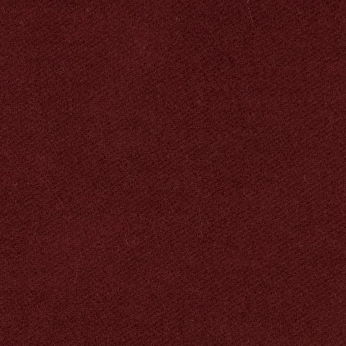 コットン&ポリウレタン×無地(エンジ)×モールスキンストレッチ_全3色 イメージ1