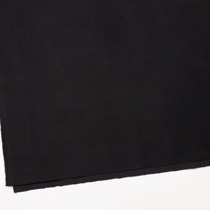 コットン&ポリウレタン×無地(ブラック)×モールスキンストレッチ_全3色 イメージ2