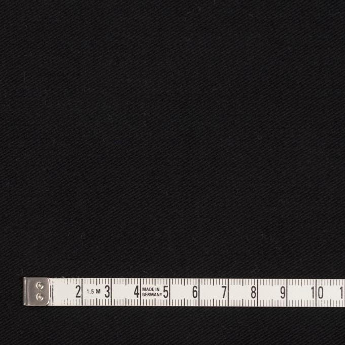 コットン&ポリウレタン×無地(ブラック)×モールスキンストレッチ_全3色 イメージ4